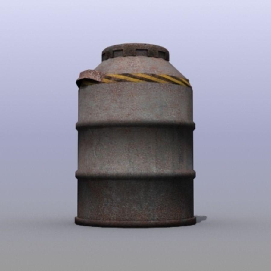 Oil Barrels royalty-free 3d model - Preview no. 23