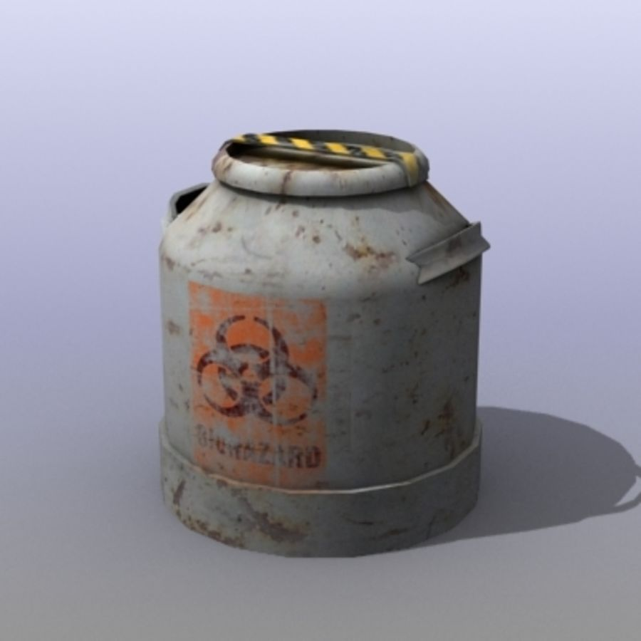 Oil Barrels royalty-free 3d model - Preview no. 1