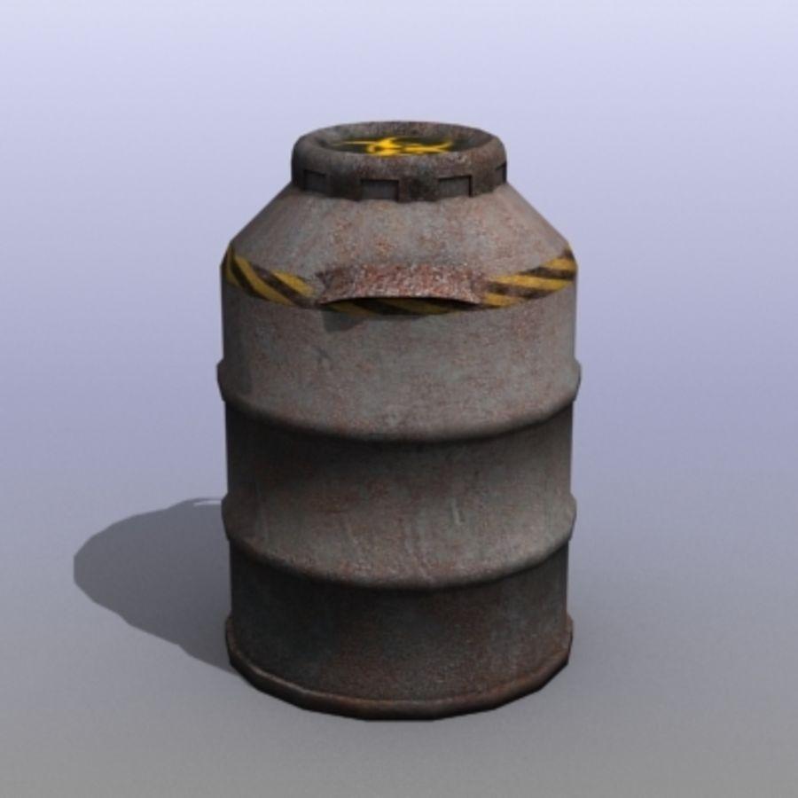 Oil Barrels royalty-free 3d model - Preview no. 18
