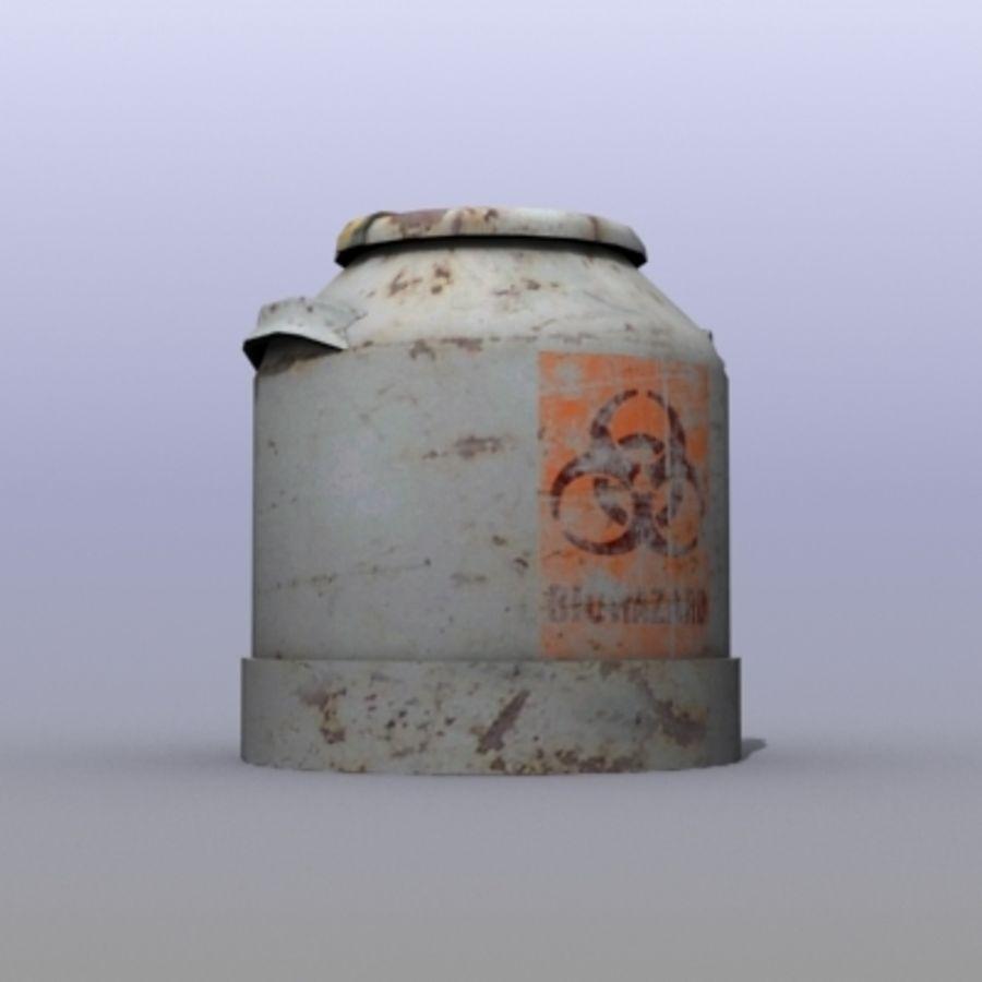 Oil Barrels royalty-free 3d model - Preview no. 9