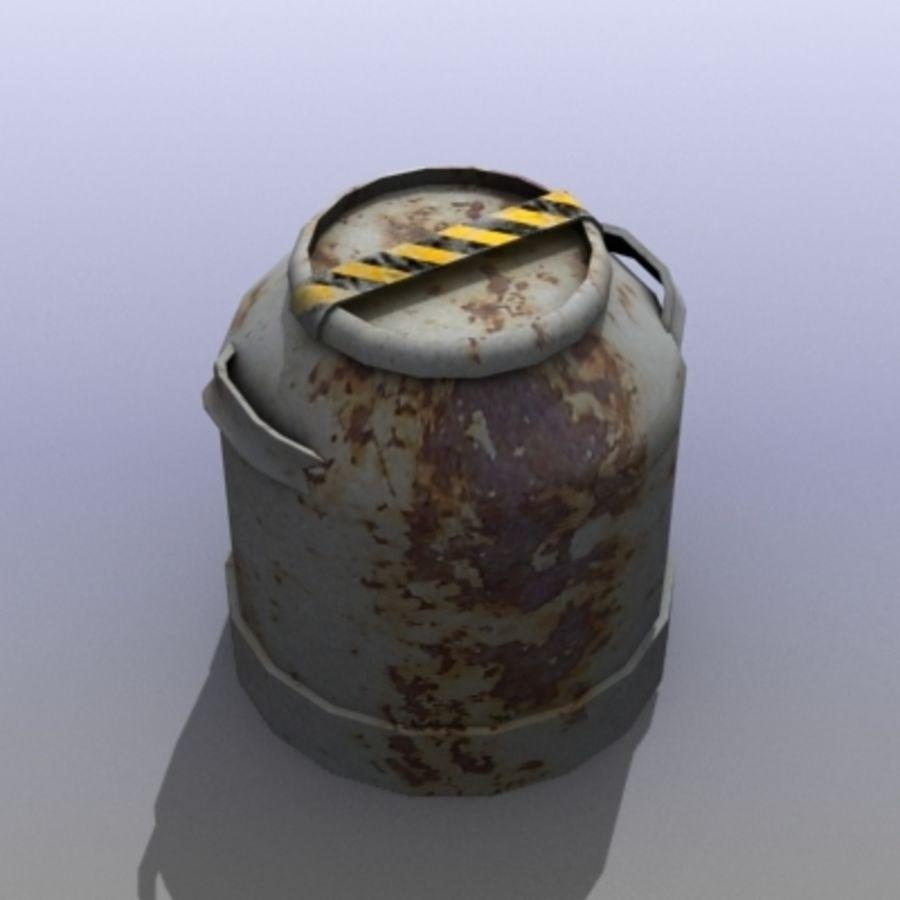 Oil Barrels royalty-free 3d model - Preview no. 8