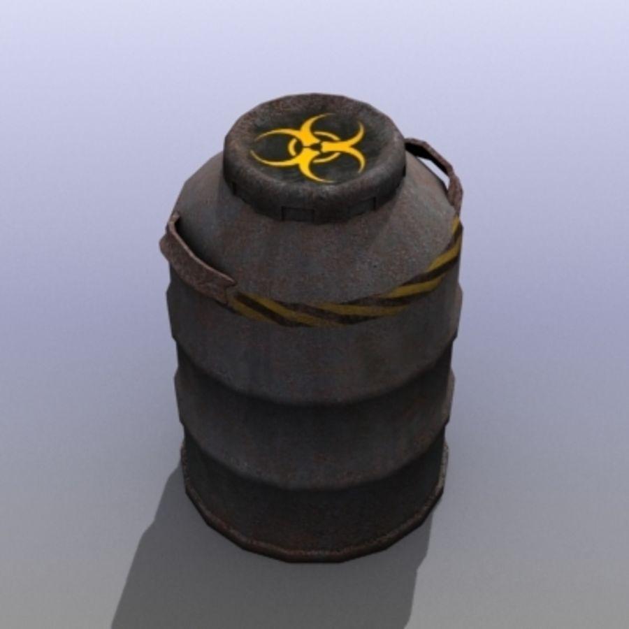 Oil Barrels royalty-free 3d model - Preview no. 21