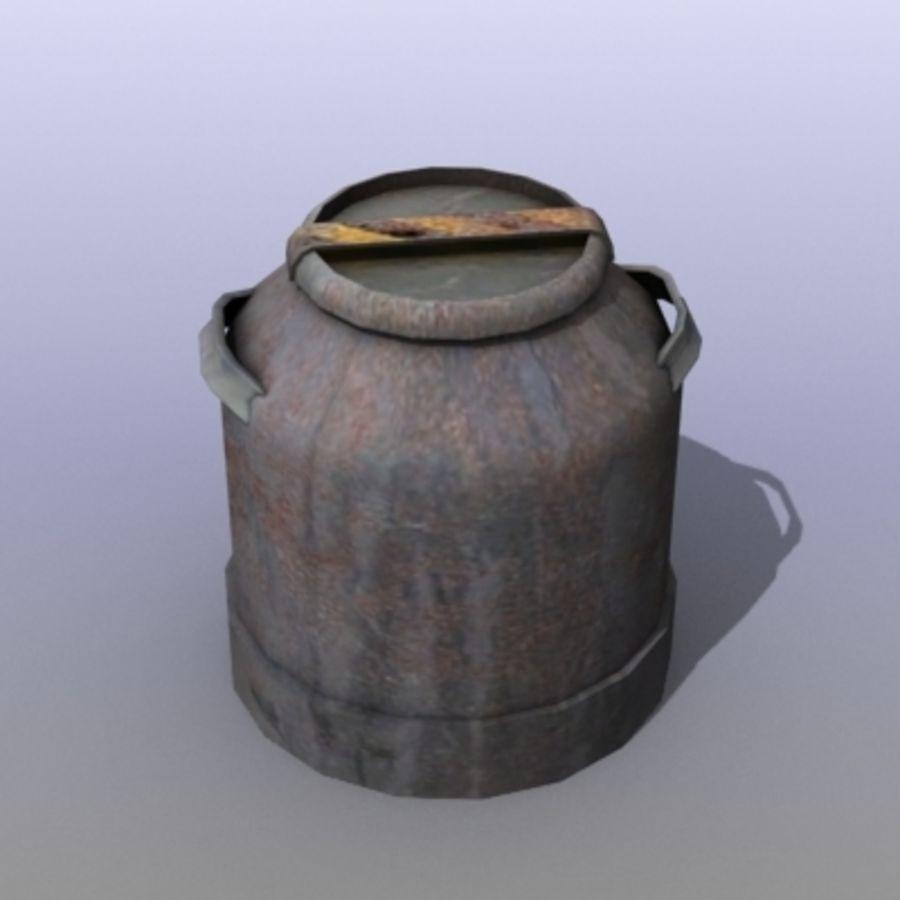Oil Barrels royalty-free 3d model - Preview no. 41