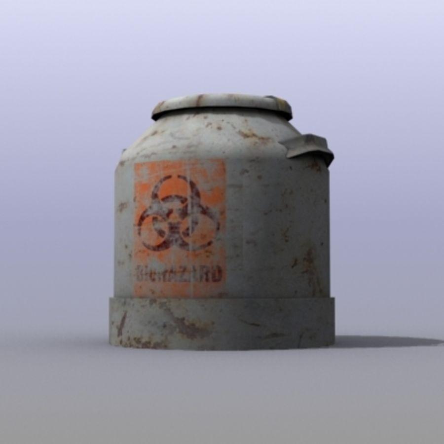 Oil Barrels royalty-free 3d model - Preview no. 3