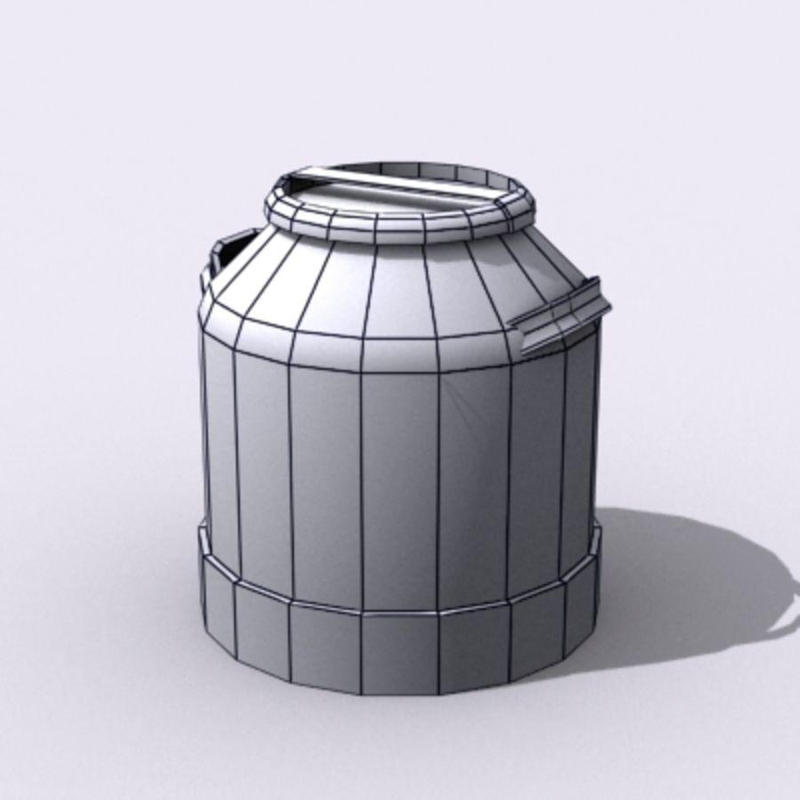 Oil Barrels royalty-free 3d model - Preview no. 47