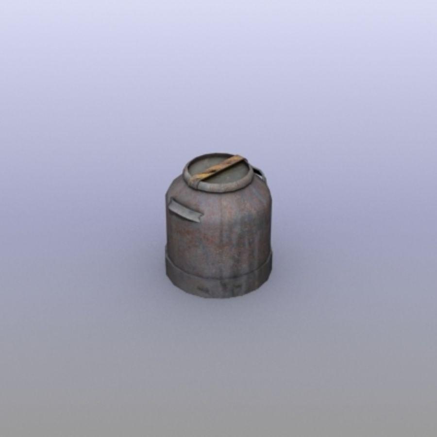 Oil Barrels royalty-free 3d model - Preview no. 43
