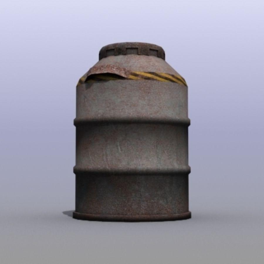 Oil Barrels royalty-free 3d model - Preview no. 22