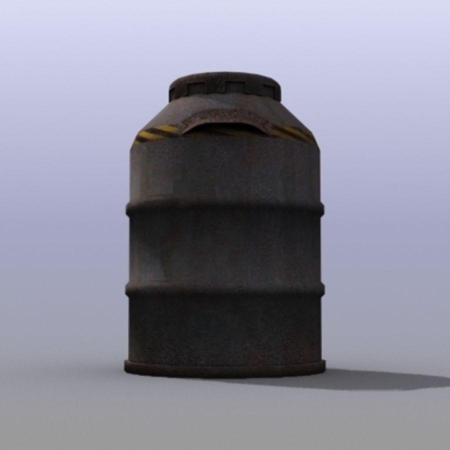 Oil Barrels royalty-free 3d model - Preview no. 26