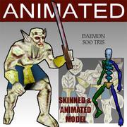 démon 3d model