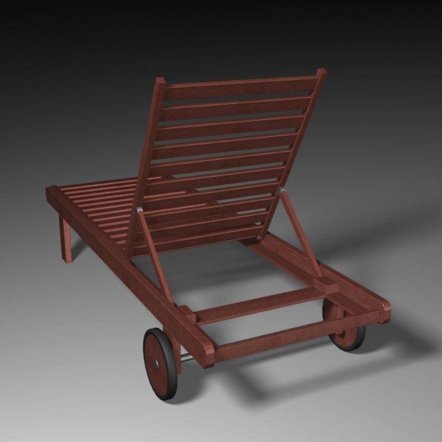 太阳椅 royalty-free 3d model - Preview no. 4