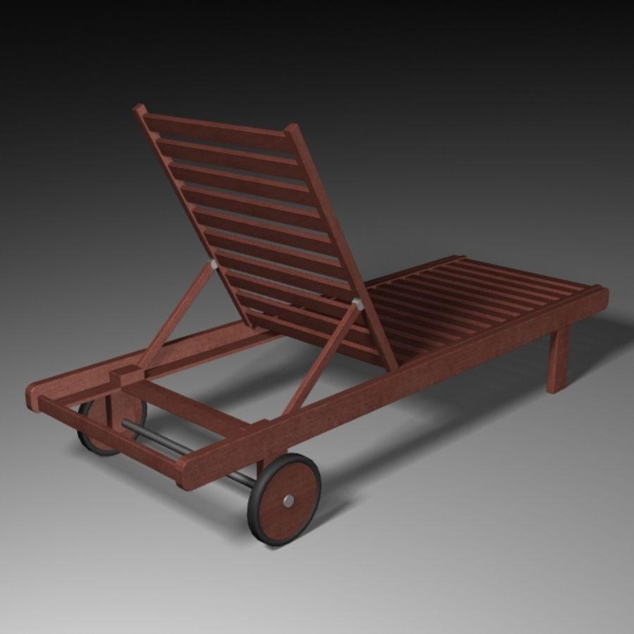 太阳椅 royalty-free 3d model - Preview no. 3