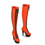kvinna skor 3d model