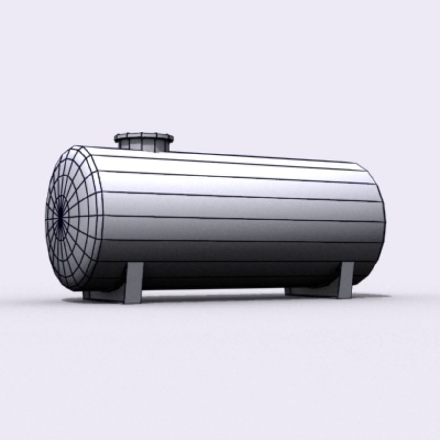 Einfacher Wassertank royalty-free 3d model - Preview no. 5