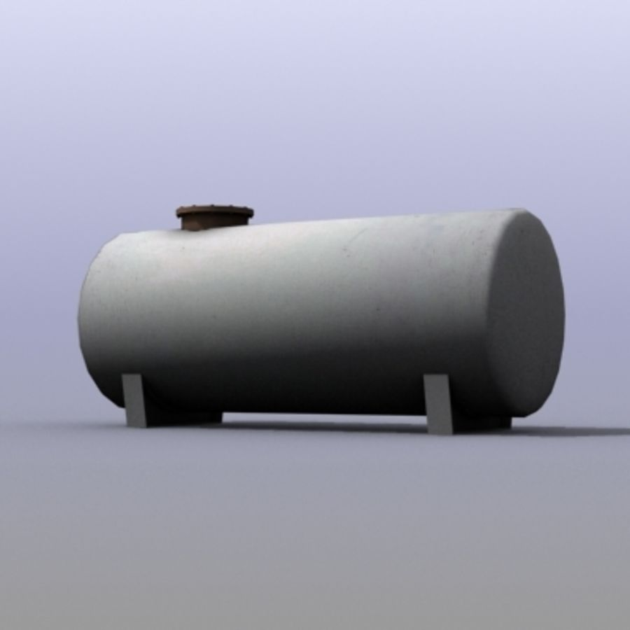 Einfacher Wassertank royalty-free 3d model - Preview no. 1