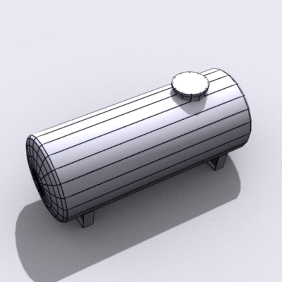 Einfacher Wassertank royalty-free 3d model - Preview no. 4