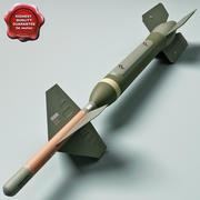 Aircraft Bomb GBU-24 PAVEWAY III with BLU-109 warhead 3d model