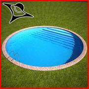 Ronda de piscina modelo 3d