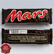 巧克力火星 3d model