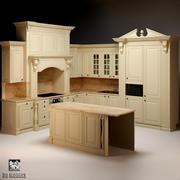 Kitchen Set Neff 3d model