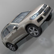 VolksWagen Car Touareg 3d model