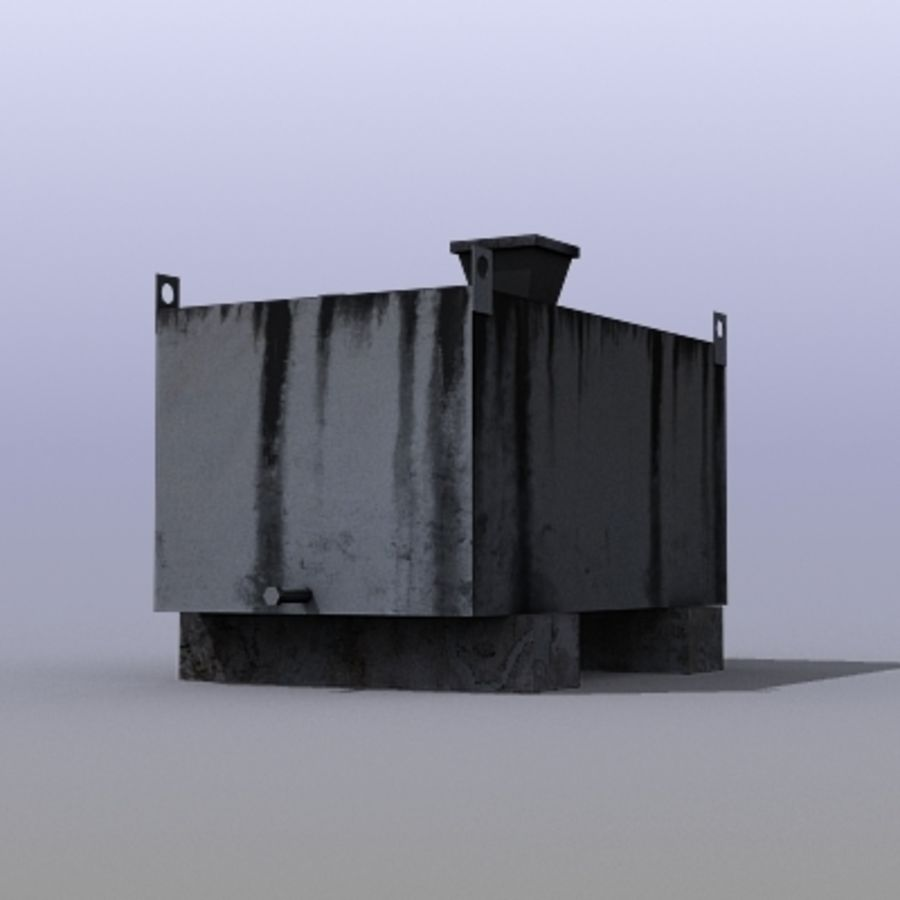 Boîte à essence royalty-free 3d model - Preview no. 2