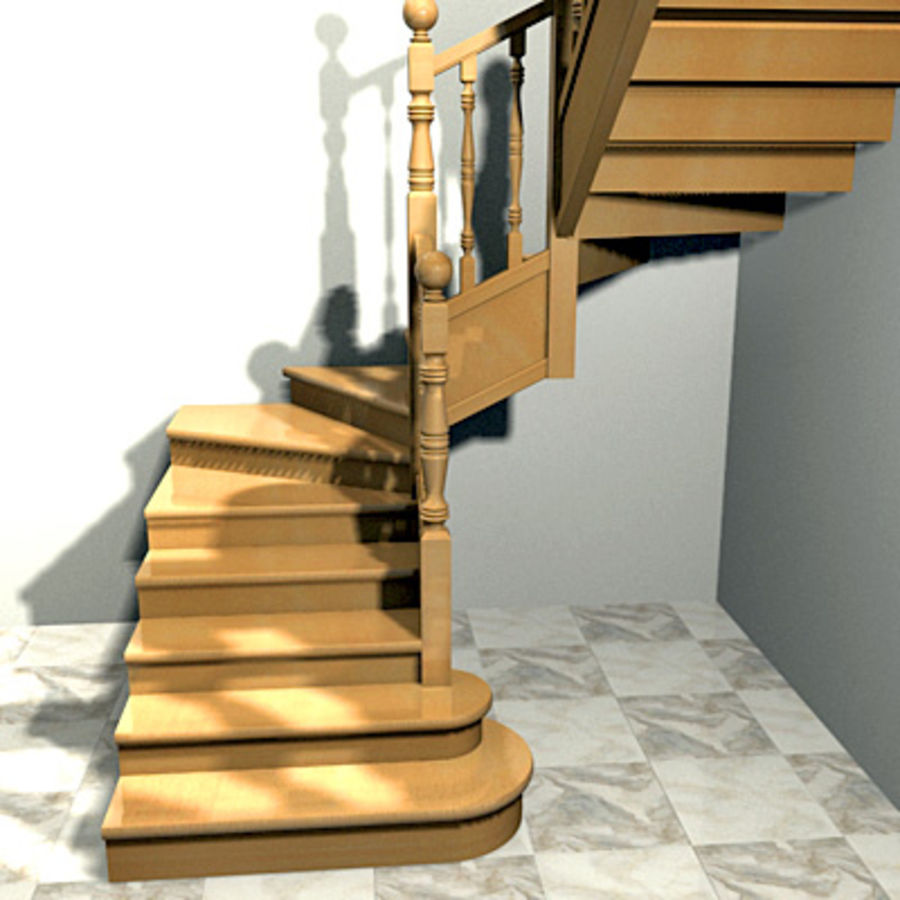 Innentreppe 2 Escaleras De Interieur 2 3d Modell 10 Obj Max