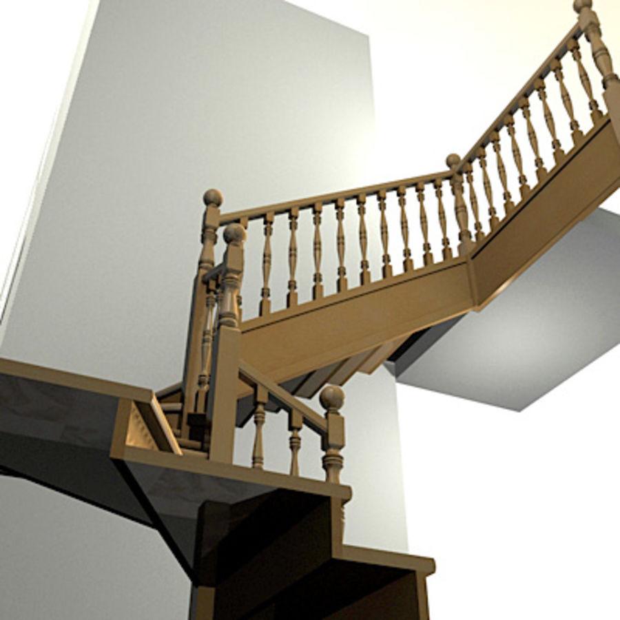 Escalier intérieur 2, Escaleras de interior 2 modèle 3D $10 - .obj ...