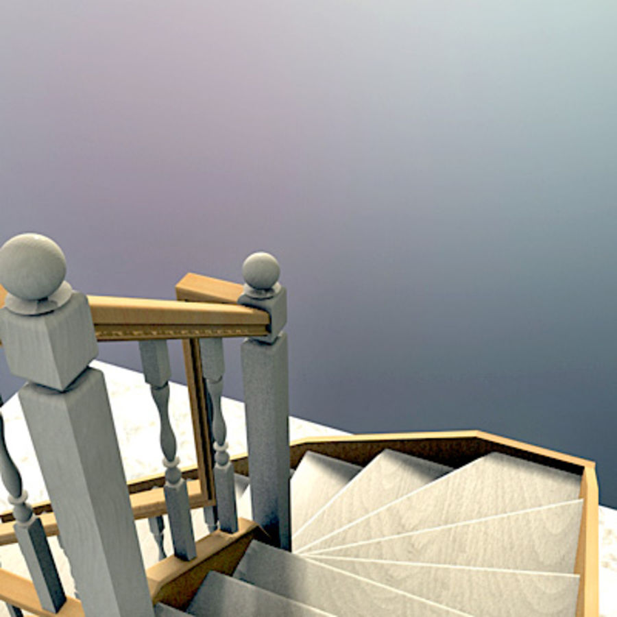 Interior Stairs Escaleras de interior 3D Model 10 obj max 3ds