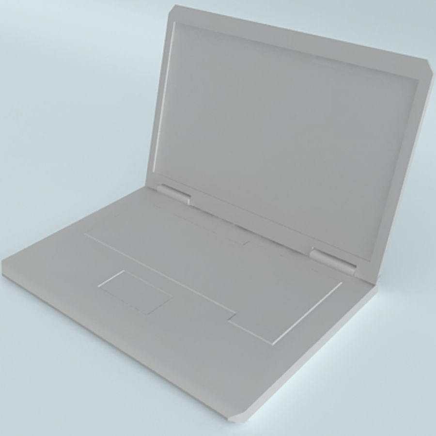 Dell Notebook royalty-free 3d model - Preview no. 12