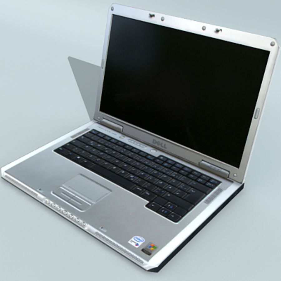 Dell Notebook royalty-free 3d model - Preview no. 11