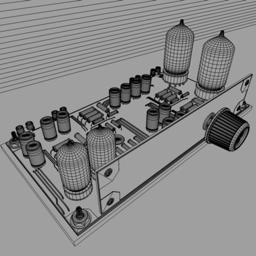 Electronics royalty-free 3d model - Preview no. 2