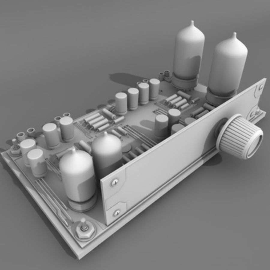 Electronics royalty-free 3d model - Preview no. 3