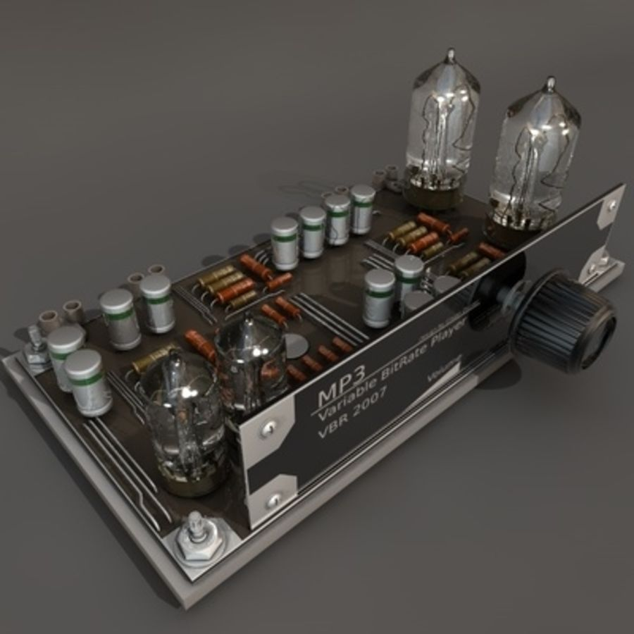 Electronics royalty-free 3d model - Preview no. 1