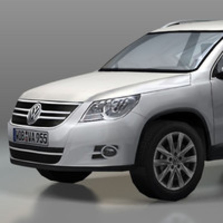 Volkswagen Car Tiguan royalty-free 3d model - Preview no. 2