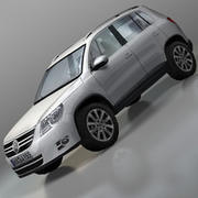 Volkswagen Car Tiguan 3d model