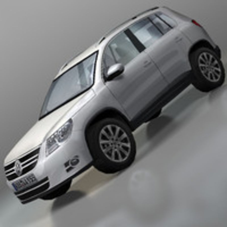 Volkswagen Car Tiguan royalty-free 3d model - Preview no. 1