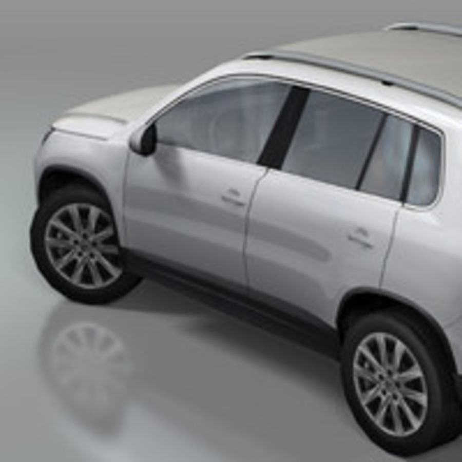 Volkswagen Car Tiguan royalty-free 3d model - Preview no. 4
