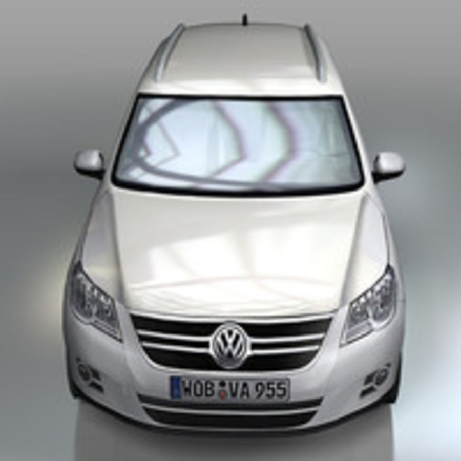 Volkswagen Car Tiguan royalty-free 3d model - Preview no. 5