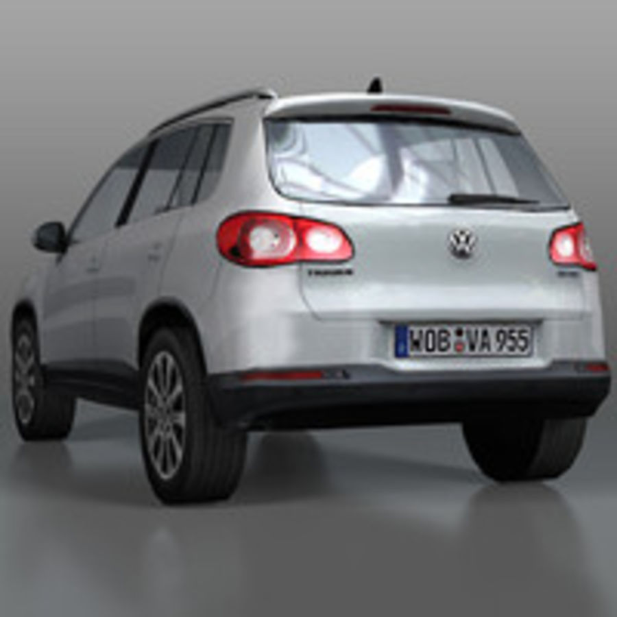 Volkswagen Car Tiguan royalty-free 3d model - Preview no. 6