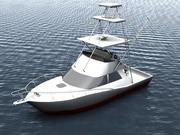 Cabo Yacht 3d model