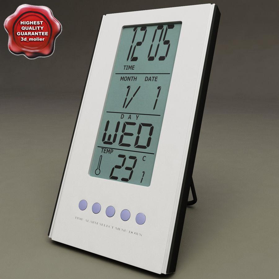 Digital clock royalty-free 3d model - Preview no. 1
