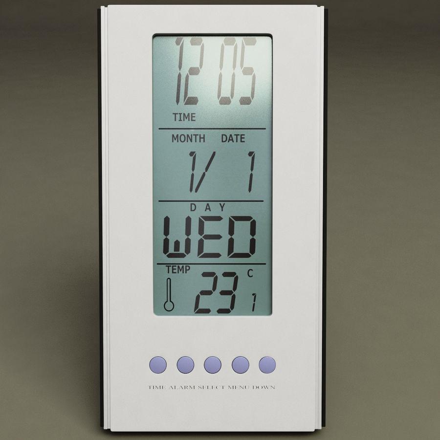 Digital clock royalty-free 3d model - Preview no. 2