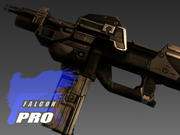 MachineGun 2020 3d model