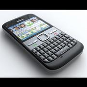 Nokia E5 3d model