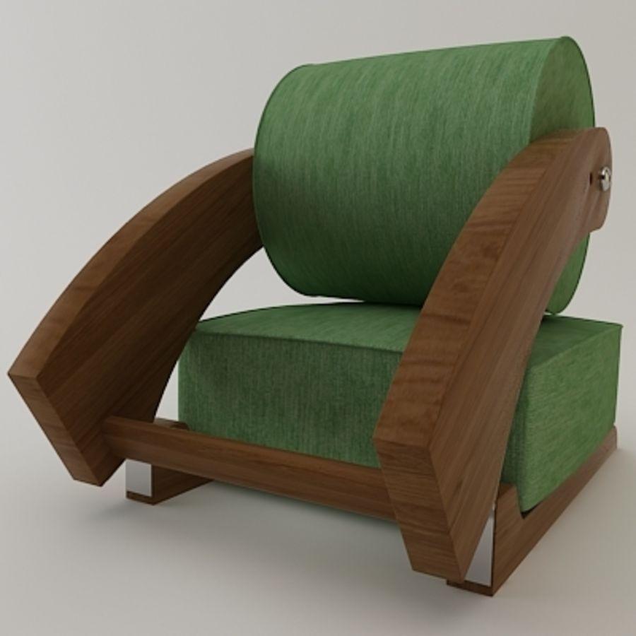 Portable Meditation Chair 3D Model $25