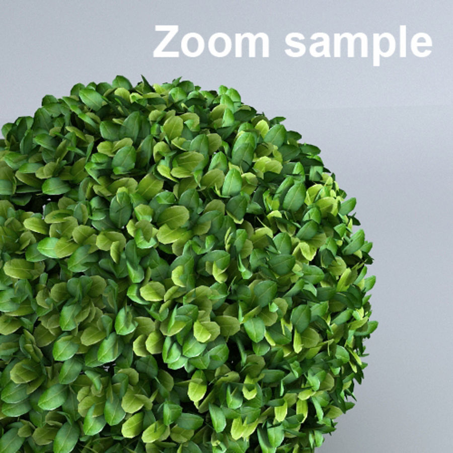 Hedge cubes royalty-free 3d model - Preview no. 4