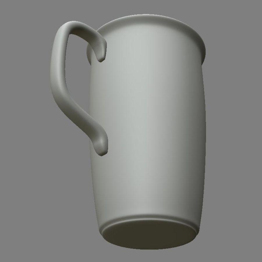 咖啡杯 royalty-free 3d model - Preview no. 7