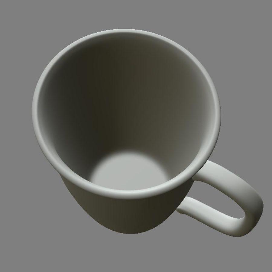 咖啡杯 royalty-free 3d model - Preview no. 8