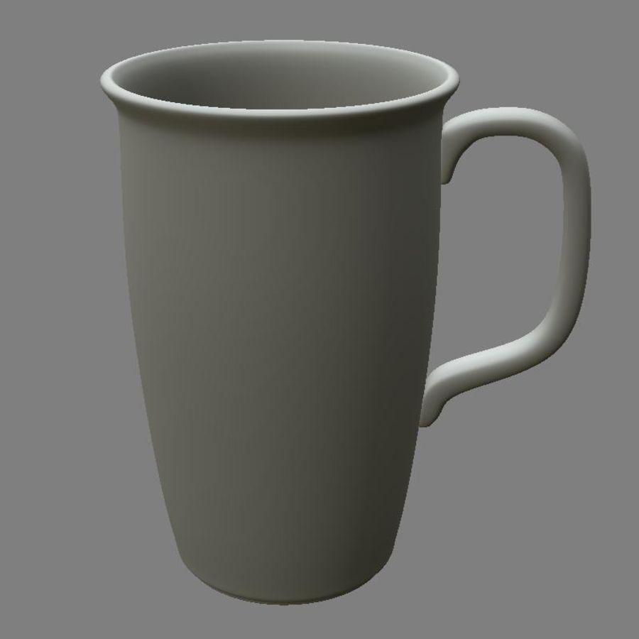 咖啡杯 royalty-free 3d model - Preview no. 6