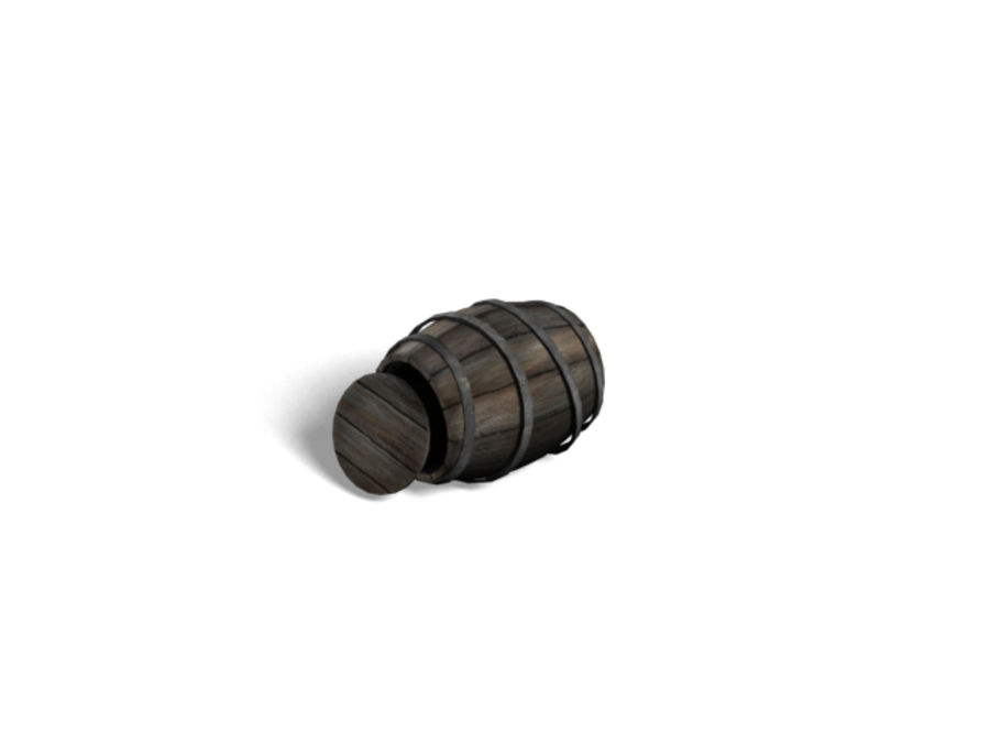 Barrel Collection royalty-free 3d model - Preview no. 6